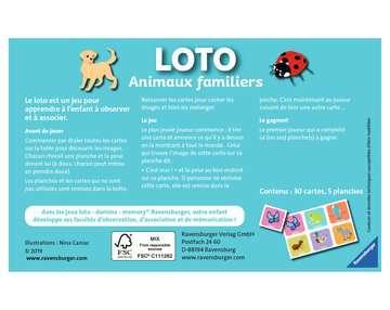 Loto Animaux familiers Jeux éducatifs;Loto, domino, memory® - Image 2 - Ravensburger