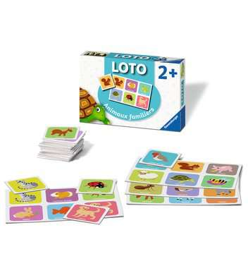 Loto Animaux familiers Jeux éducatifs;Loto, domino, memory® - Image 3 - Ravensburger