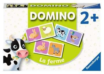Domino La ferme Jeux éducatifs;Loto, domino, memory® - Image 1 - Ravensburger