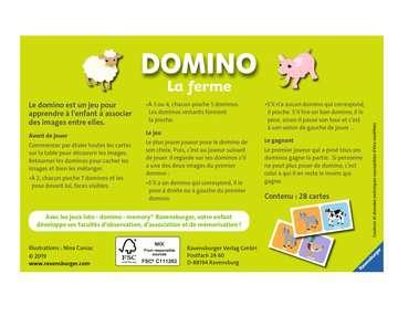 Domino La ferme Jeux éducatifs;Loto, domino, memory® - Image 2 - Ravensburger