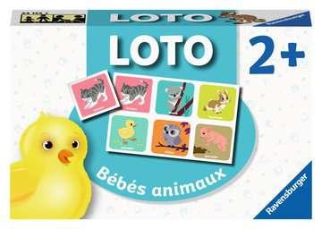 Loto Bébés animaux Jeux éducatifs;Loto, domino, memory® - Image 1 - Ravensburger