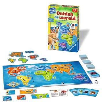 Ontdek de wereld Spellen;Speel- en leerspellen - image 2 - Ravensburger
