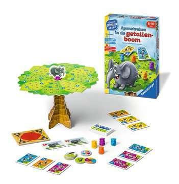 Apenstreken in de getallenboom Spellen;Speel- en leerspellen - image 2 - Ravensburger
