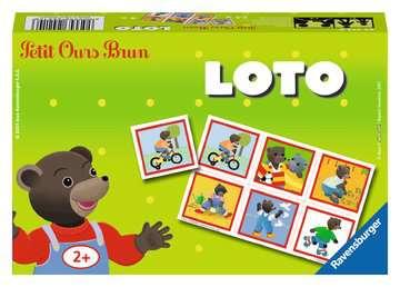 Loto Petit Ours Brun Jeux de société;Jeux enfants - Image 1 - Ravensburger