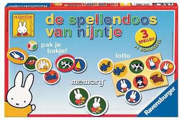 De spellendoos van nijntje Spellen;Speel- en leerspellen - image 1 - Ravensburger
