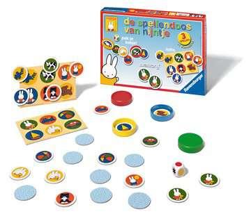 De spellendoos van nijntje Spellen;Speel- en leerspellen - image 2 - Ravensburger