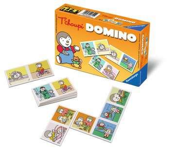 Domino T choupi Jeux de société;Jeux enfants - Image 2 - Ravensburger