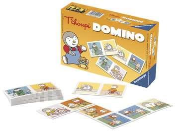 Domino T choupi Jeux de société;Jeux enfants - Image 3 - Ravensburger