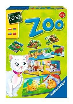 LOGO - ZOO Gry;Gry dla dzieci - Zdjęcie 1 - Ravensburger