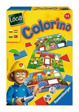 LOGO - COLORINO Gry;Gry dla dzieci - Zdjęcie 2 - Ravensburger