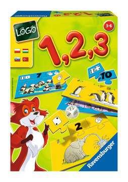 LOGO - 1,2,3 Gry;Gry dla dzieci - Zdjęcie 1 - Ravensburger