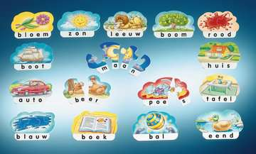 Eerste woordjes Spellen;Speel- en leerspellen - image 3 - Ravensburger
