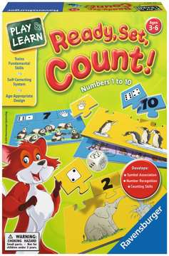 Ready Set Count Games;Educational Games - image 1 - Ravensburger