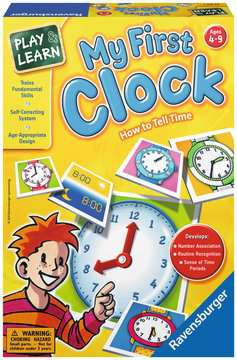 My First Clock Game Games;Educational Games - image 1 - Ravensburger