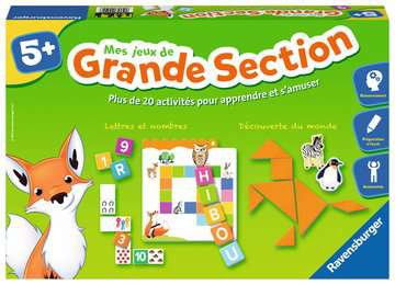 Mes jeux de grande section Jeux;Jeux pour enfants - Image 1 - Ravensburger