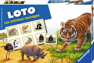 Loto les animaux sauvages Jeux de société;Jeux enfants - Image 1 - Ravensburger