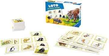 Loto les animaux sauvages Jeux de société;Jeux enfants - Image 4 - Ravensburger