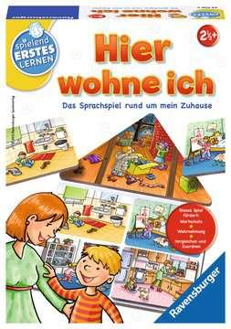 Hier wohne ich Lernen und Fördern;Lernspiele - Bild 1 - Ravensburger