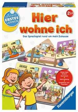 24710 Kinderspiele Hier wohne ich von Ravensburger 1
