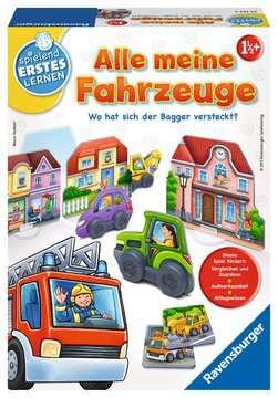 Alle meine Fahrzeuge Lernen und Fördern;Lernspiele - Bild 1 - Ravensburger