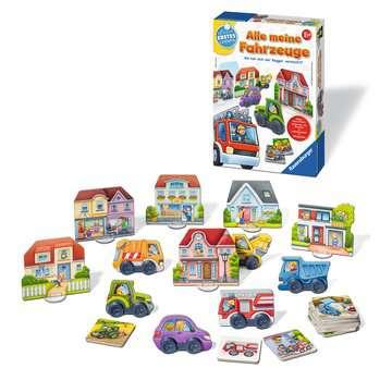 Alle meine Fahrzeuge Lernen und Fördern;Lernspiele - Bild 2 - Ravensburger