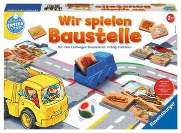 24726 Kinderspiele Wir spielen Baustelle von Ravensburger 1