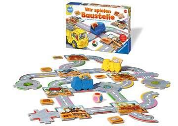 24726 Kinderspiele Wir spielen Baustelle von Ravensburger 2