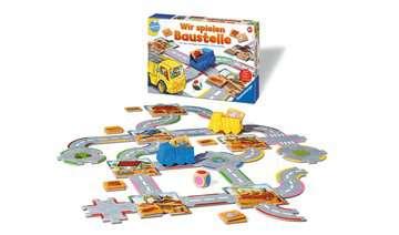 24726 Kinderspiele Wir spielen Baustelle von Ravensburger 3