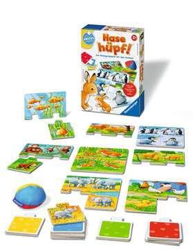 24735 Kinderspiele Hase hüpf! von Ravensburger 2