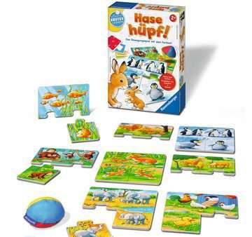 24735 Kinderspiele Hase hüpf! von Ravensburger 3