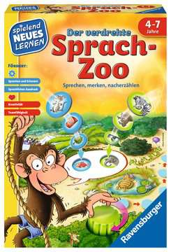 24945 Kinderspiele Der verdrehte Sprach-Zoo von Ravensburger 1