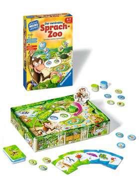 24945 Kinderspiele Der verdrehte Sprach-Zoo von Ravensburger 2