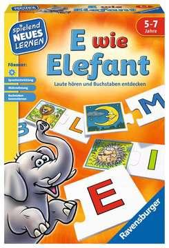 E wie Elefant Lernen und Fördern;Lernspiele - Bild 1 - Ravensburger