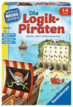 24969 Kinderspiele Die Logik-Piraten von Ravensburger 1