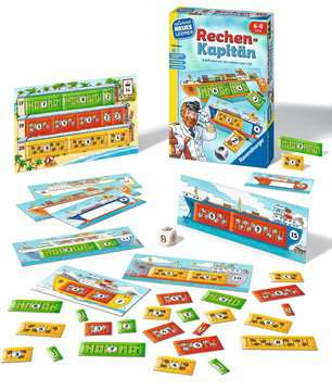 24972 Kinderspiele Rechen-Kapitän von Ravensburger 2