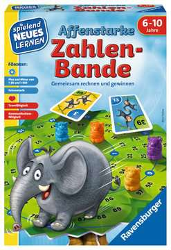 24973 Kinderspiele Affenstarke Zahlen-Bande von Ravensburger 1
