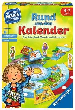 Rund um den Kalender Lernen und Fördern;Lernspiele - Bild 1 - Ravensburger
