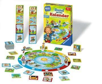 Rund um den Kalender Lernen und Fördern;Lernspiele - Bild 2 - Ravensburger