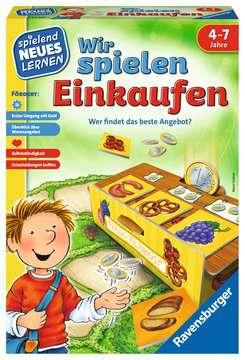 24985 Kinderspiele Wir spielen Einkaufen von Ravensburger 1