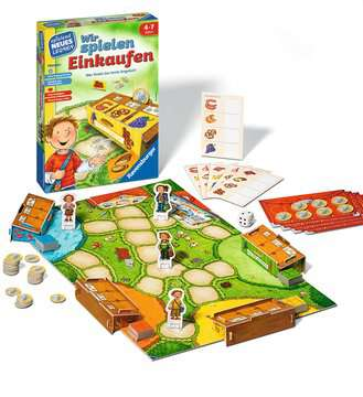 24985 Kinderspiele Wir spielen Einkaufen von Ravensburger 2