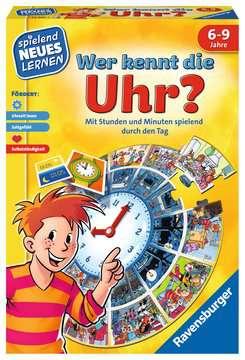 24995 Kinderspiele Wer kennt die Uhr? von Ravensburger 1
