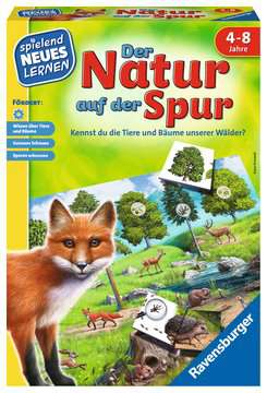 Der Natur auf der Spur Lernen und Fördern;Lernspiele - Bild 1 - Ravensburger