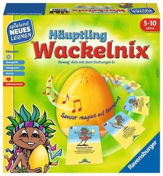 Häuptling Wackelnix Lernen und Fördern;Lernspiele - Bild 1 - Ravensburger