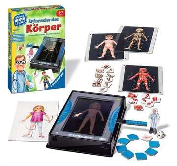 Erforsche den Körper Lernen und Fördern;Lernspiele - Bild 2 - Ravensburger