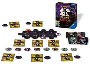 Werwölfe Vampirdämmerung Spiele;Erwachsenenspiele - Bild 2 - Ravensburger