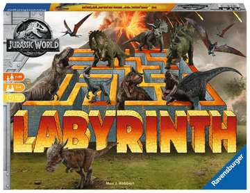 Jurassic World Labyrinth Games;Children s Games - image 1 - Ravensburger