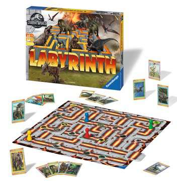 Jurassic World Labyrinth Games;Children s Games - image 2 - Ravensburger