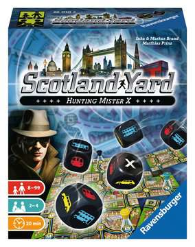 Scotland Yard - Das Würfelspiel Spiele;Würfelspiele - Bild 1 - Ravensburger
