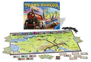 TRANS EUROPA + TRANS AMERIKA Gry;Gry dla dzieci - Zdjęcie 2 - Ravensburger