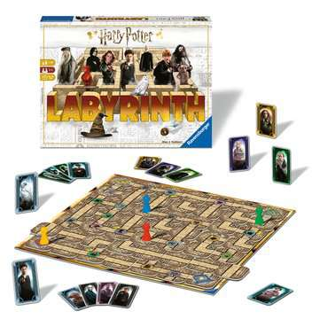 Harry Potter Labyrinth Games;Family Games - image 2 - Ravensburger
